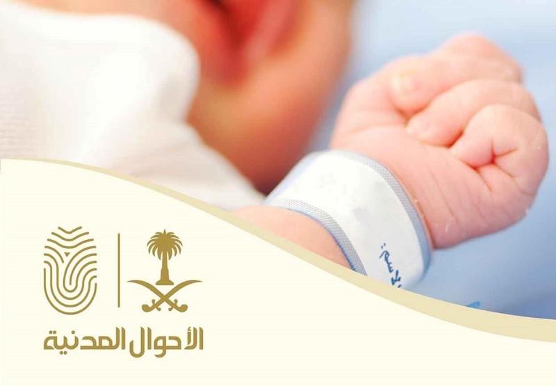 يتم التبليغ عن واقعة الولادة عن طريق المستشفى الذي تمت الولادة فيه