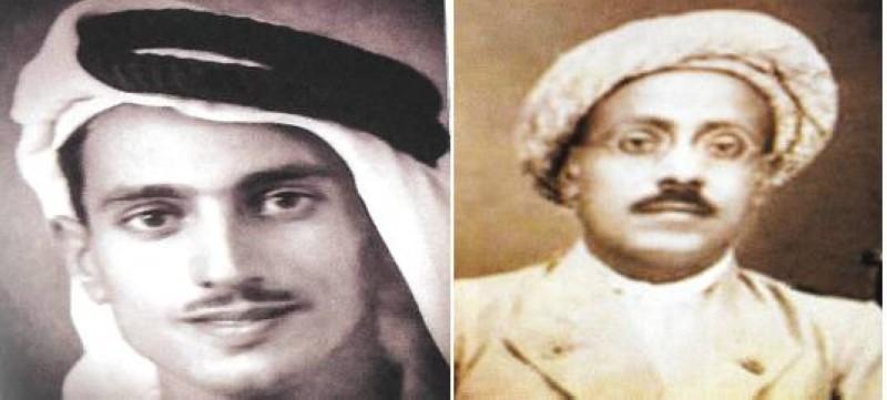 جده ابراهيم ووالده حسن كلداري.