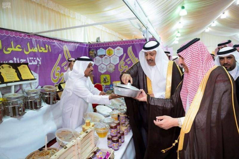 أمير الباحة لـ«عكاظ»: نجاح مهرجان العسل استثنائي