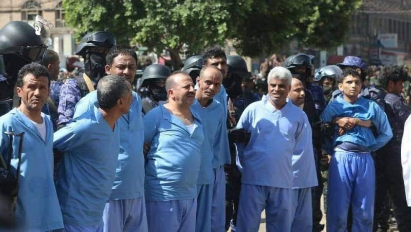 المدنيون الـ9 الذين أعدمهم الحوثي بقضايا كيدية في صنعاء اليوم