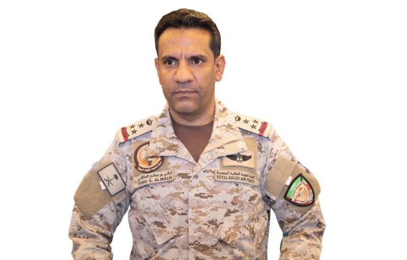 المتحدث الرسمي باسم قوات التحالف «تحالف دعم الشرعية في اليمن» العميد الركن تركي المالكي