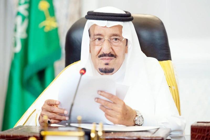 الملك سلمان خلال إلقائه خطابه أمام الدورة 76 للجمعية العامة للأمم المتحدة. (واس)