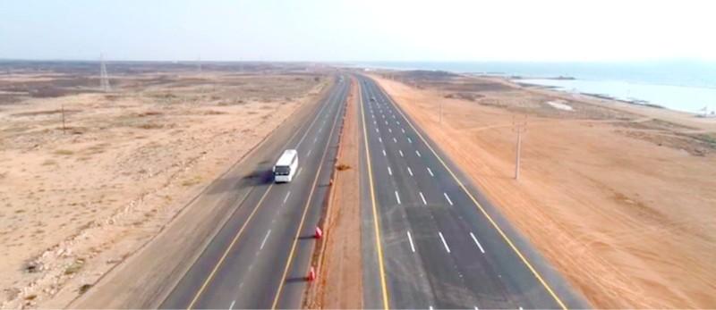 طريق الساحلي جدة - أبها.
