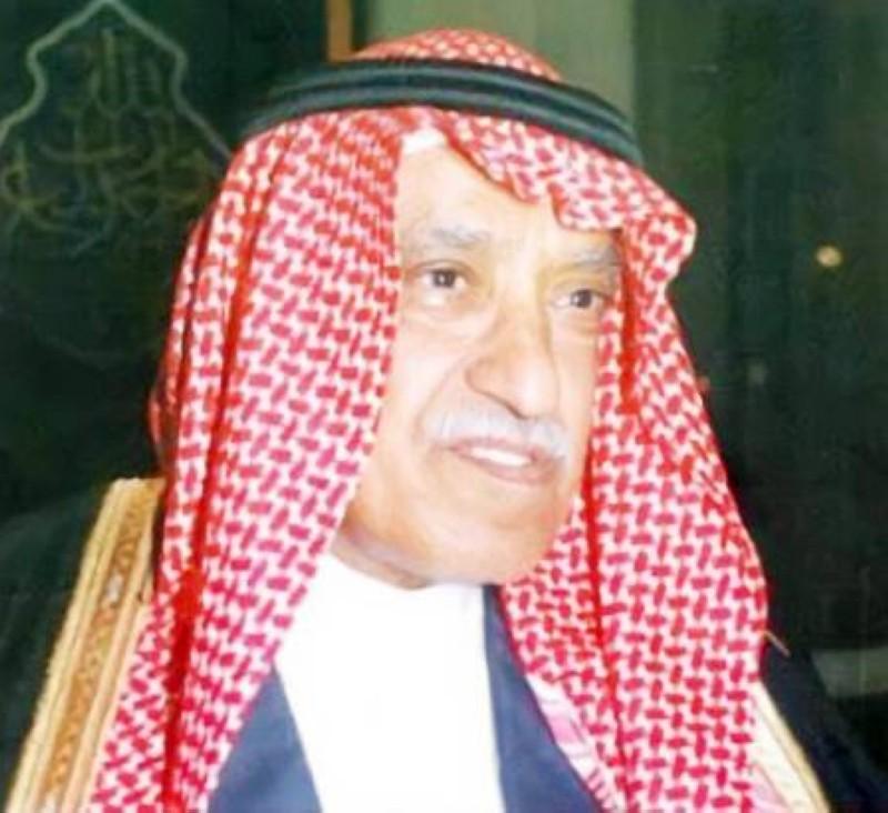 الأديب الشاعر عبدالله الحمد القرعاوي.