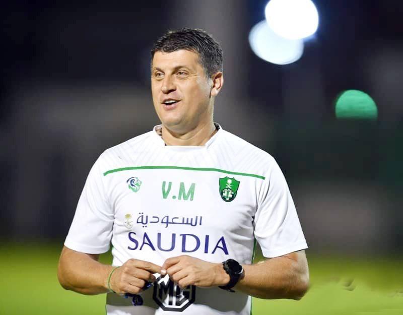 المدرب الصربي فلادان ميلوفيتش يستعد لخوض تجربة جديدة في المملكة مع الاتفاق.